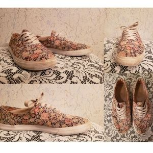 Shoes - Two pairs of well loved casual sneakers Size 8
